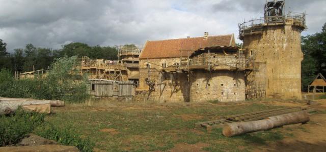 Frankreich Guedelon Burg – Bilder
